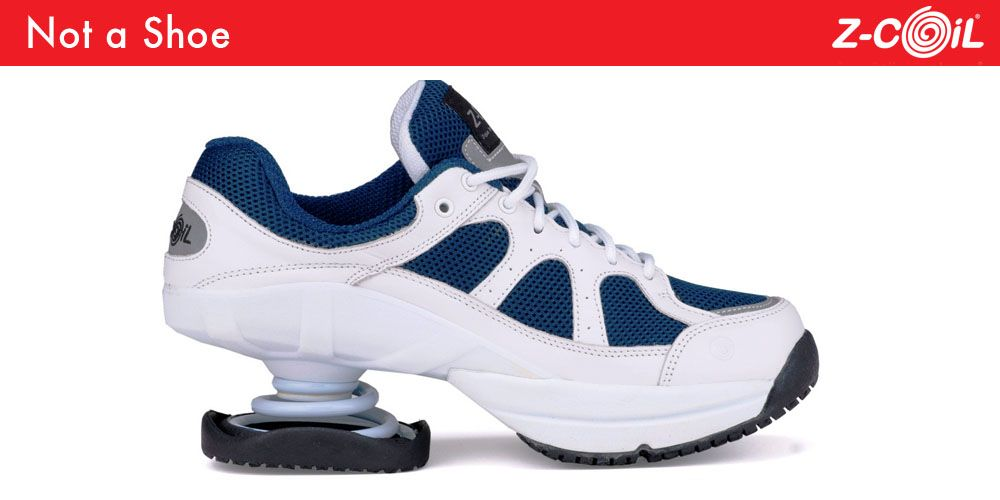 Z-CoiL® builds footwear to relieve foot, leg and back pain.