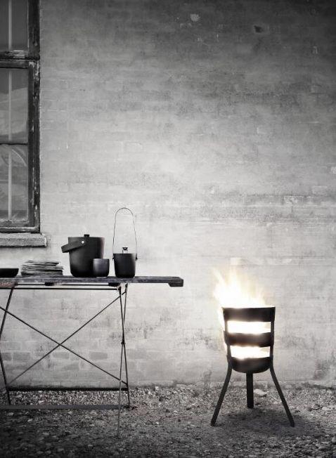#Raumidee des Tages: Stimme dich auf den #Herbst ein! 🍂 Schicke Feuerstelle von Menu Design Slovakia.  ► http://partners.webmasterplan.com/click.asp?ref=541570&site=9259&type=text&tnb=7&diurl=http://www.design-bestseller.de/fire-basket-feuerkorb.html?feedgenerator_id=6