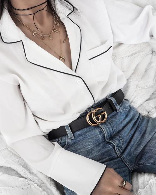 Cinturón logo Gucci  f86240fc88a