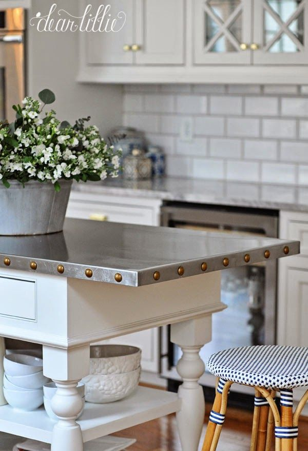 A Clic And Timeless White Kitchen By Dear Lillie Island Top Ideasmetal