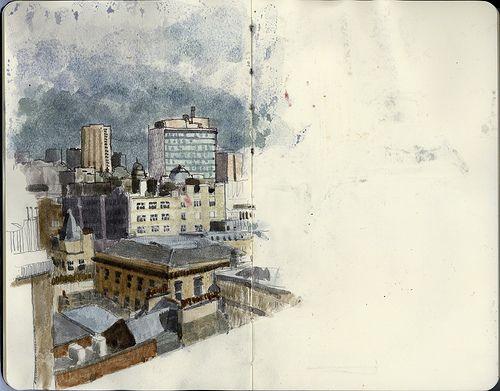 Toutes les tailles | Urban Sketching meet up | Flickr: partage de photos!