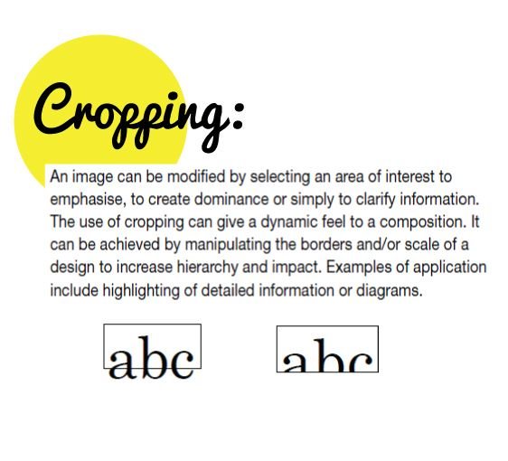 Elements Of Arts And Definition : Definition of cropping art elements pinterest