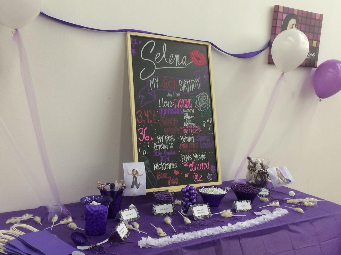 Selena Quintanilla inspired birthday Selena quintanilla