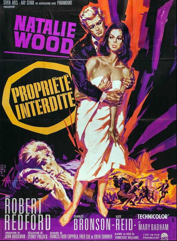 propriete interdite pollack | PROPRIETE INTERDITE (1966) - Rue du Cine | News, cinéma, critiques de ...