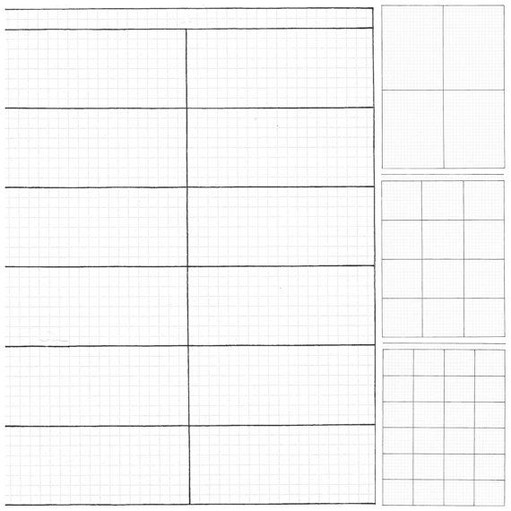 Simple Boxes -Bullet Journal Inserts, Hand Drawn Printable Planner ...