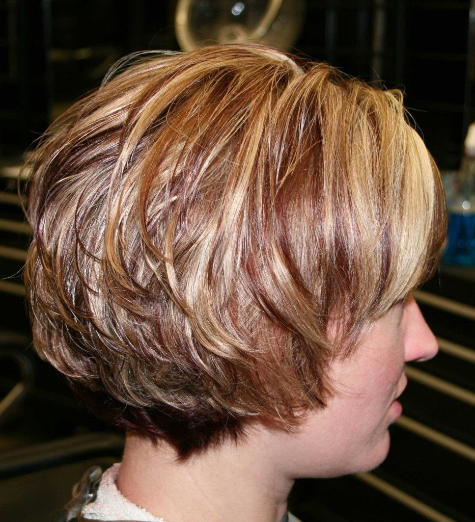 Easy Bob Hairstyles Stunning Layered Bob With Bangs 2013  Short Layered Bob Hairstyles With