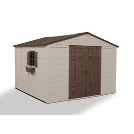 10 X 12 Shed Installed Shop Suncast 10 Ft X 10 Ft Gable Storage Shed Actuals 10 Ft X 10 12 Large Storage Buildings Storage Shed Shed