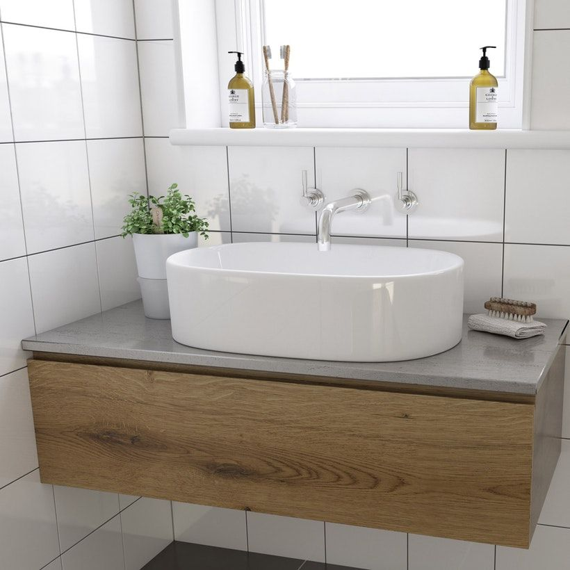 Mode Tate Countertop Basin With Waste Countertop Basin Sink
