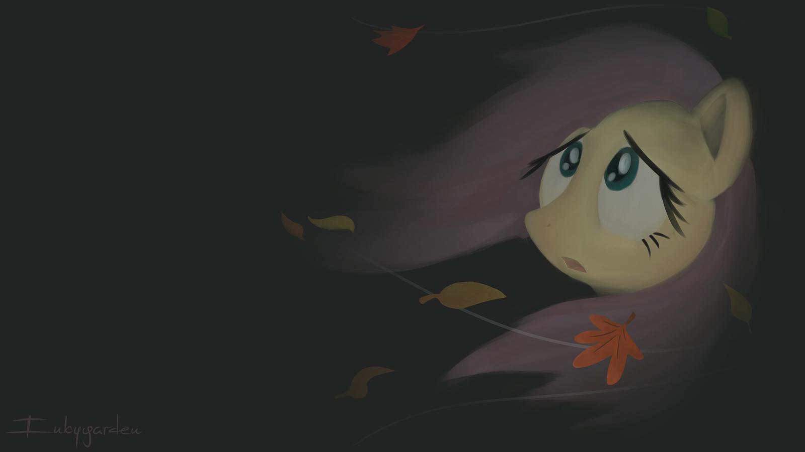Autumn Fluttershy by Inkygarden.deviantart.com on @DeviantArt