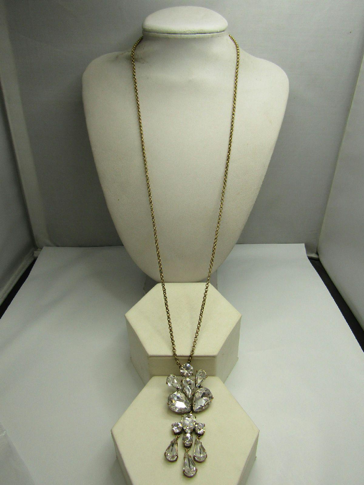 J crew signed sparkle rhinestone jewelry