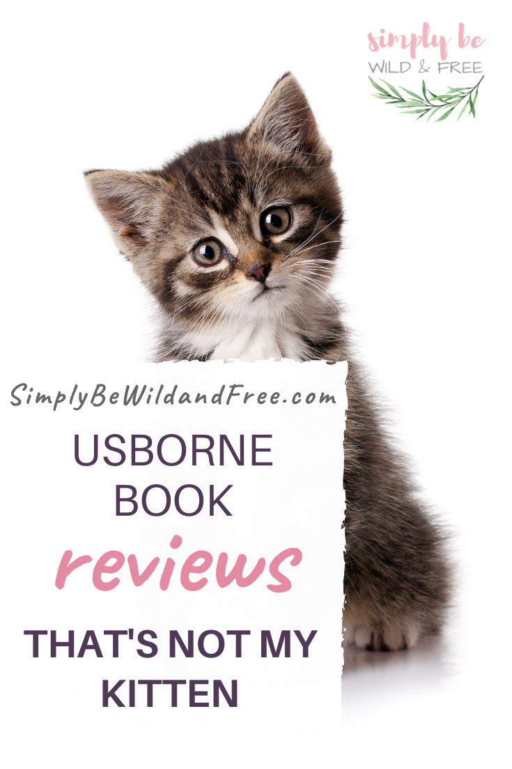 Usborne Books And More That S Not My Kitten Review In 2020 Usborne Books Kids Reading Books Preschool Books