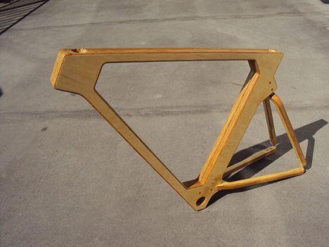 wooden bike frames beautiful craftsmanship in motion - Wooden Bike Frame