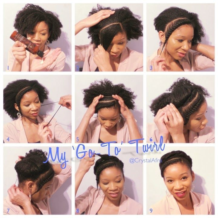 My Go To Twirl A Simple Style Tutorial Hair Styles Natural Hair Bangs Natural Hair Styles