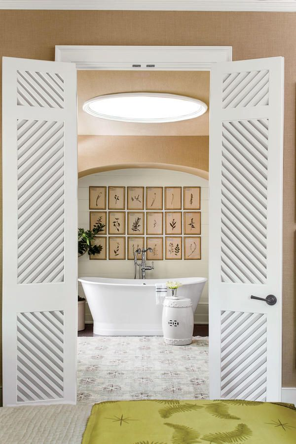 The Master Bathroom   The 2016 Idea House   Southern Living