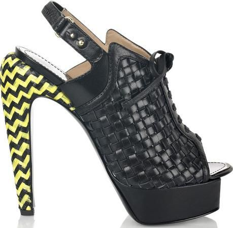 Proenza Schouler Woven Sandals