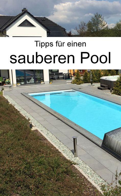 Pool reinigen 4 Tipps für sauberes Schwimmvergnügen