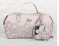 2014 Guess Sac a Main Jaquard fleur rose | Sacs à main guess
