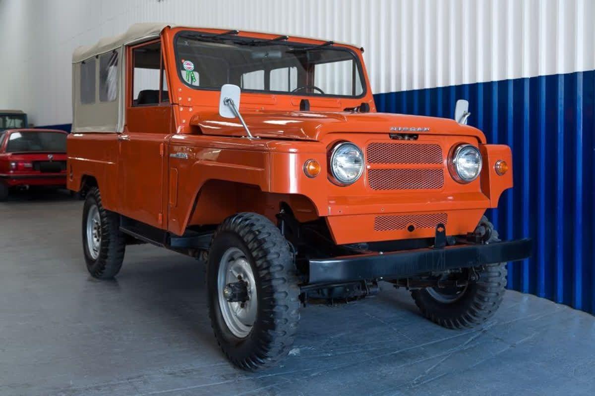Nissan Patrol G60 Fuel Lever