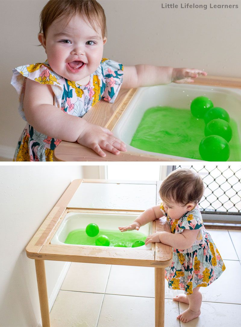Baby Play At 11 Months Little Lifelong Learners In 2020 Baby Play Baby Sensory Play Infant Activities