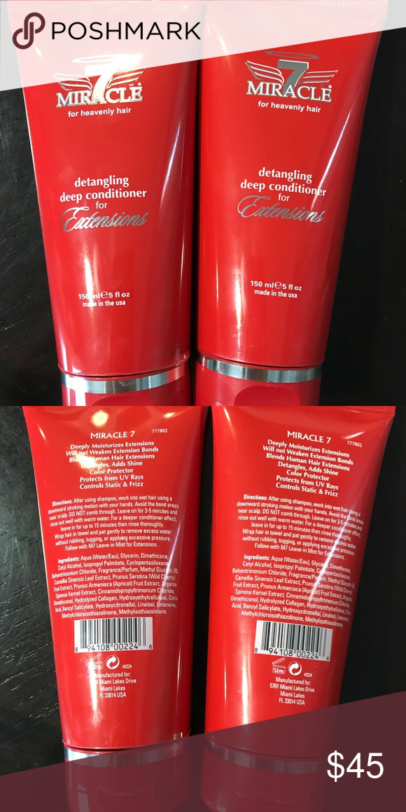Miracle 7 Deep Conditioner For Extensions Nwt My Posh Picks