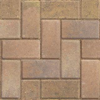 50 Concrete Block Paving Red Driveway Bricks 200mm x 100mm x 50mm Marshalls