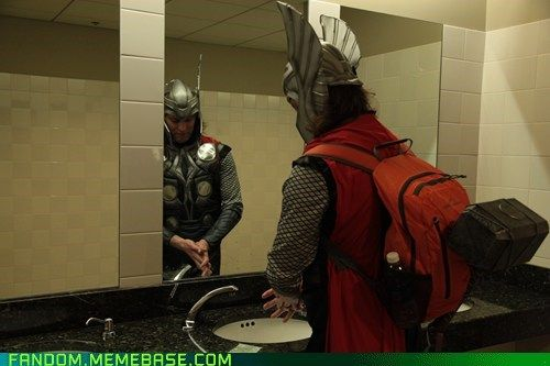 Thor Washes His Hands and so Should You