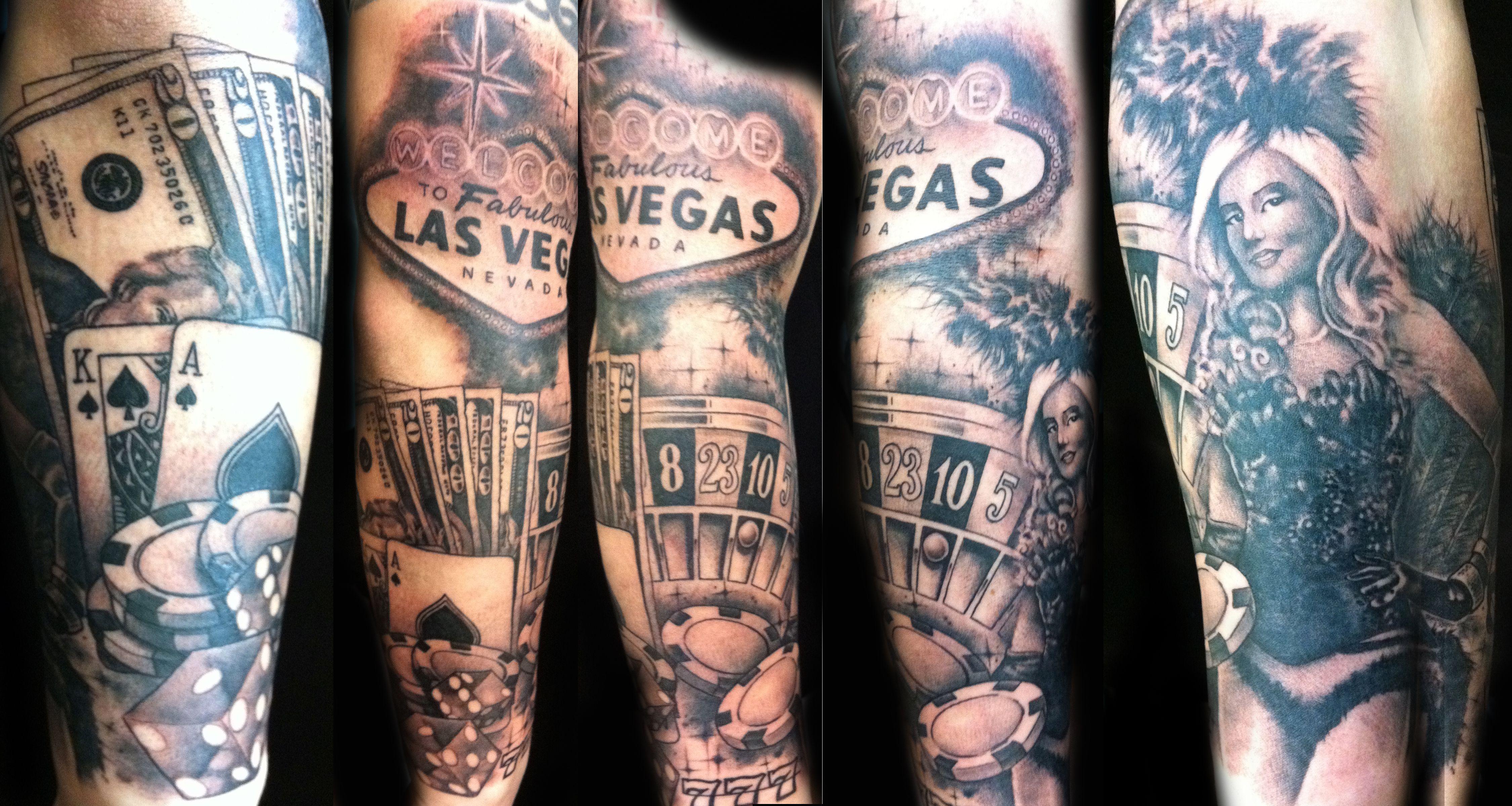 Walter Sausage Frank Tattoo Artist Vegas Tattoo Tattoos Casino Tattoo
