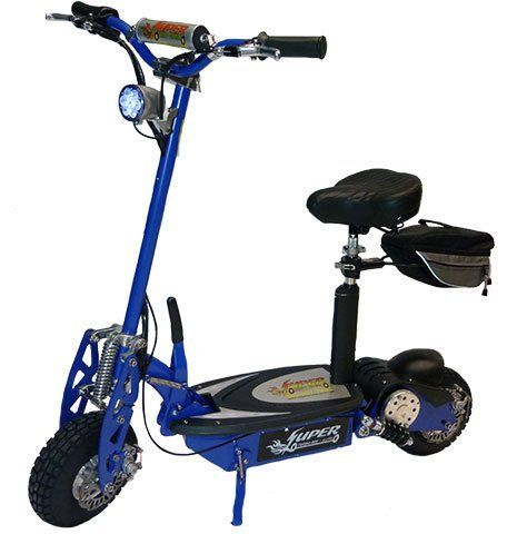 Super Turbo 1000 Lithium Electric Scooter Blue By Super Cycles Scooters 999 00 Now Available In Three Colors Black Blue And Silver All Found On Amazon