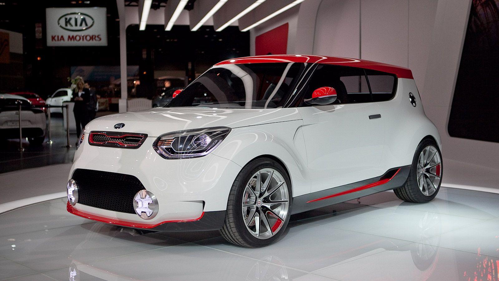 Kia Track Ster Concept A 250 Hp Awd Kimchi Flavored Hatch In 2020 Kia Soul Kia Kia Soul Price