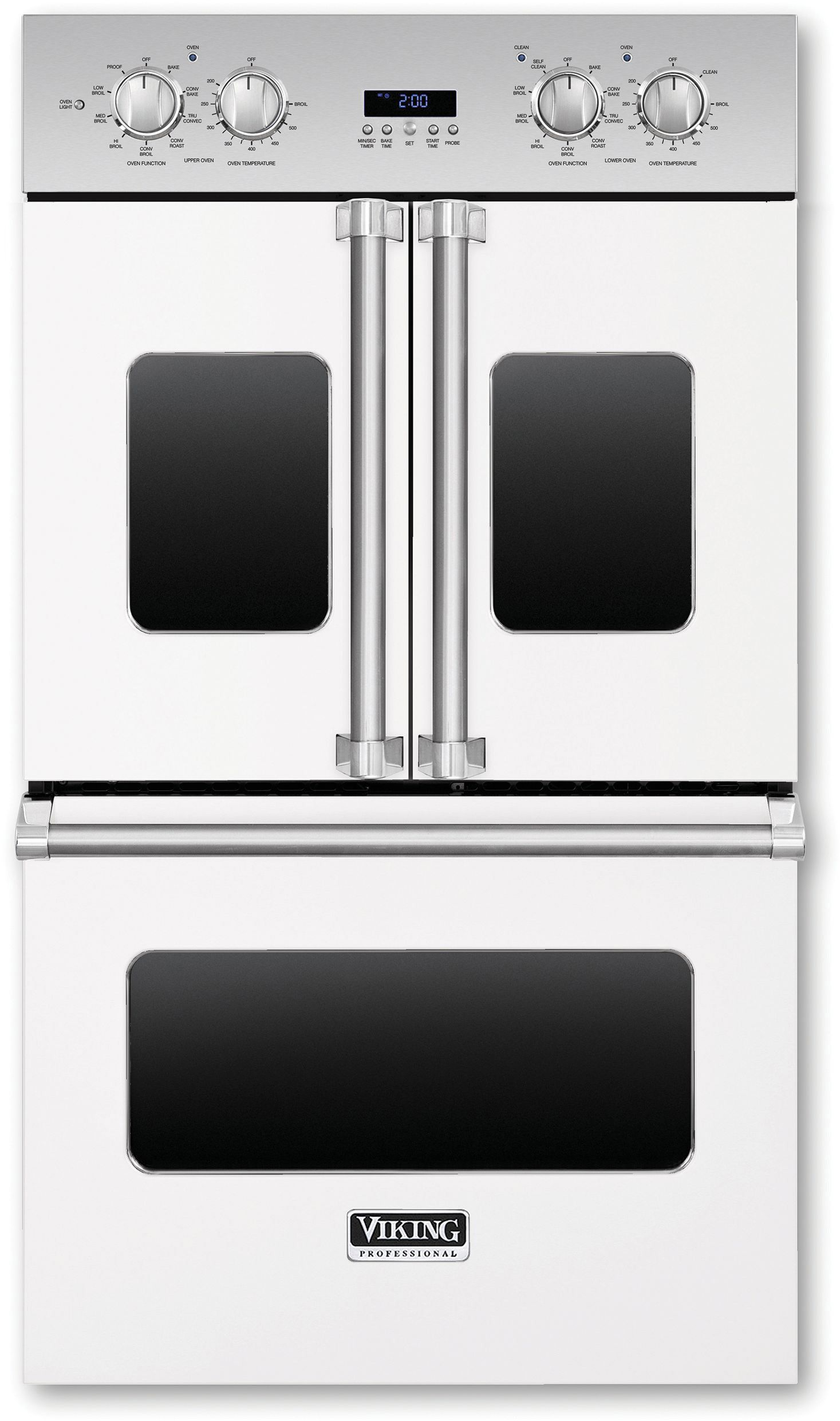Viking 7 Series Vdof730wh French Door Oven Electric Wall Oven