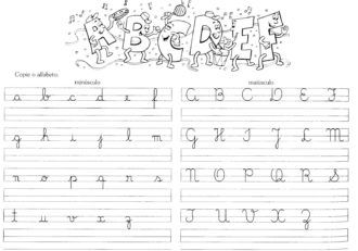 Atividades De Caligrafia Para Melhora Da Escrita Atividades De