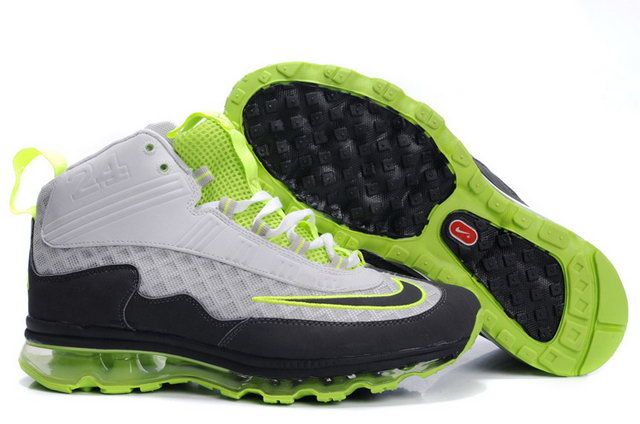 Nike Air Griffey Shoes 2011 Cool Grey Neon Yellow Shoes