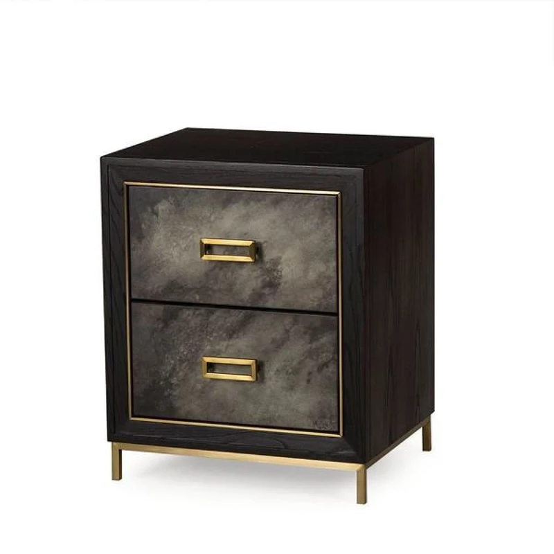 Best Augustine Furniture Sanderson Nightstand 2 Drawer 400 x 300