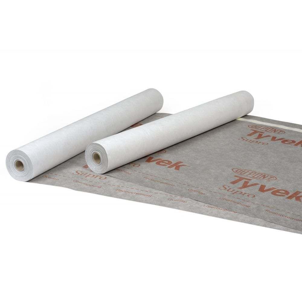 Dupont Tyvek Supro Roofing Membrane 50m X 1 5m Dupont Tyvek Roofing Tyvek