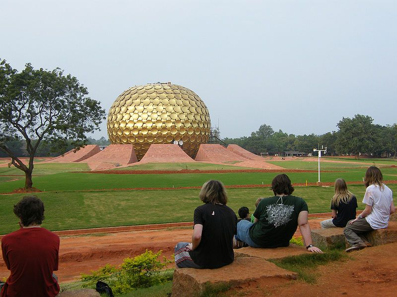 Auroville in Villupuram District, Tamilnadu, India | SOUTH
