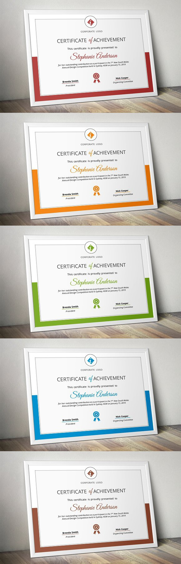 Corporate powerpoint certificate | Pinterest