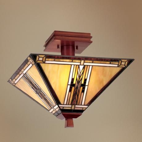 Mission Style Lighting Fixtures Chandeliers Walnut Mission