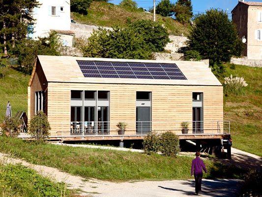 Energie Positive Salon Maison Bois Angers Tiny Houses