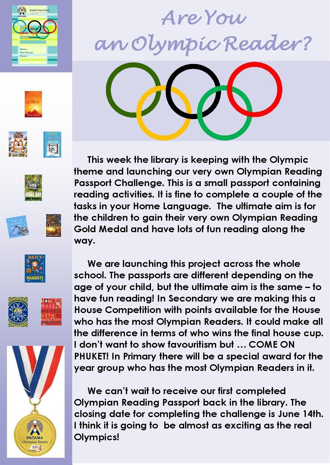 Library Reading Olympics