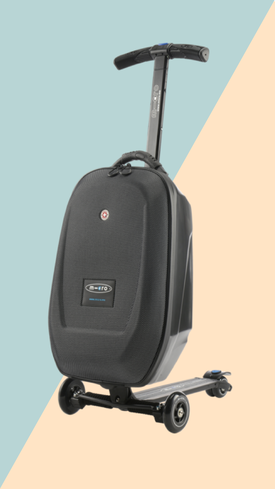 Change The Way You Travel Ride Your Carry On Our Micro Luggage