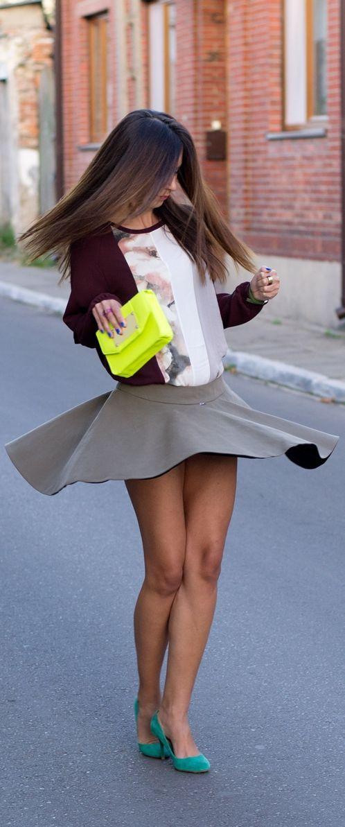 Free short skirts leotard upskirt