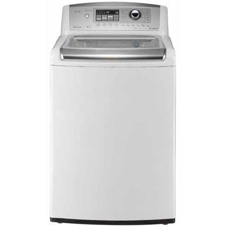 Lg Wt5001cw 4 5 Cu Ft High Efficiency Top Load Washer In White