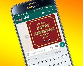 Birthday digital card birthday e card electronic card instant birthday digital card birthday e card electronic card instant download greeting cards editable greeting card m4hsunfo