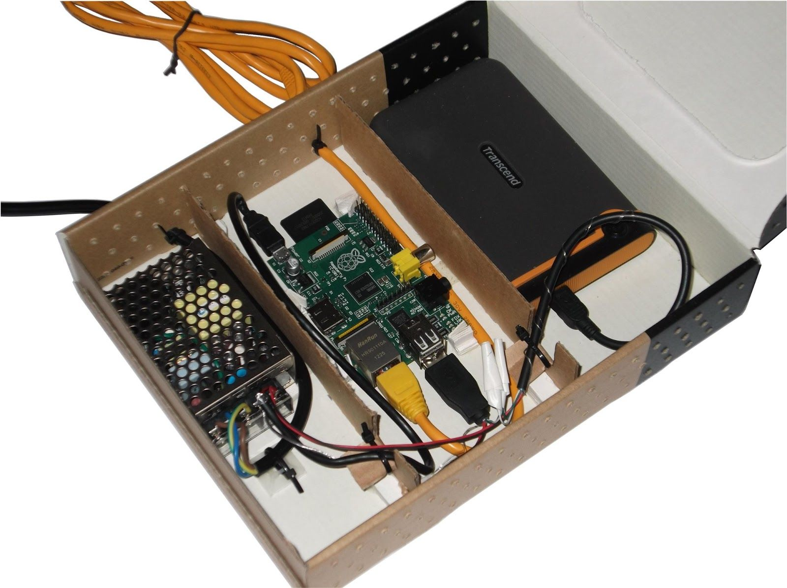 build a network attached storage nas with your raspberry pi and an external usb hard drive it s been few months since i ve bought  [ 1600 x 1195 Pixel ]