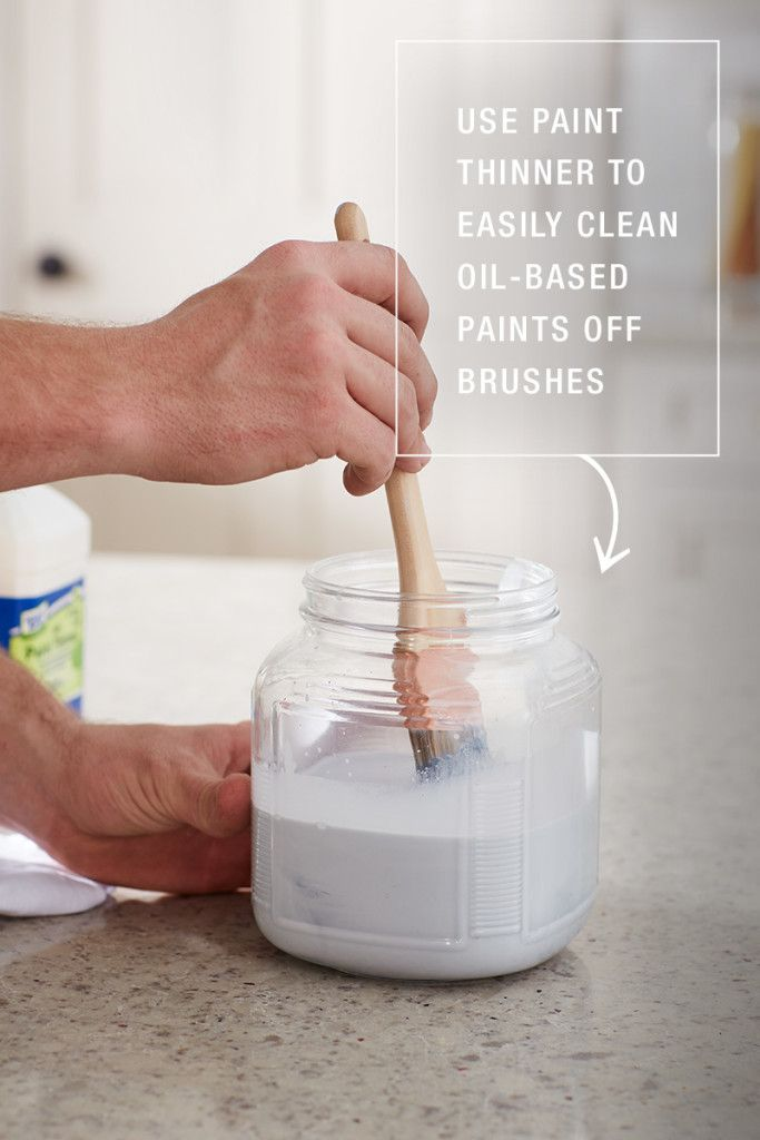 How To Paint Like A Pro The Home Depot Blog House Painting Tips Cleaning Paint Brushes Paint Thinner