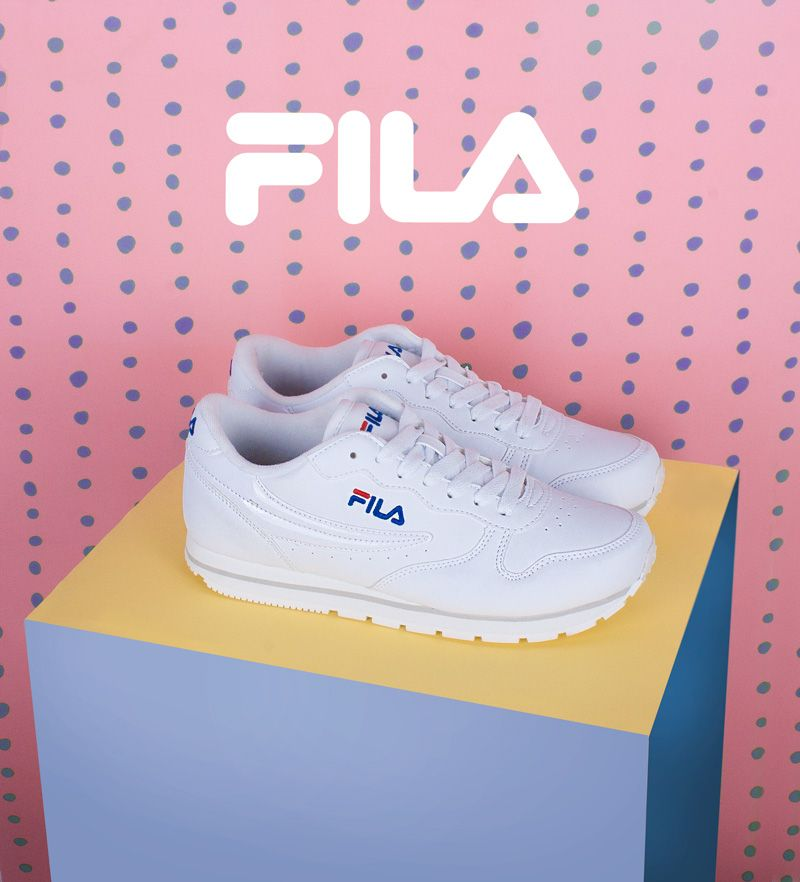 WhitewhiteChaussure Et White Orbit Fila SneakersShoes thCQdxsr