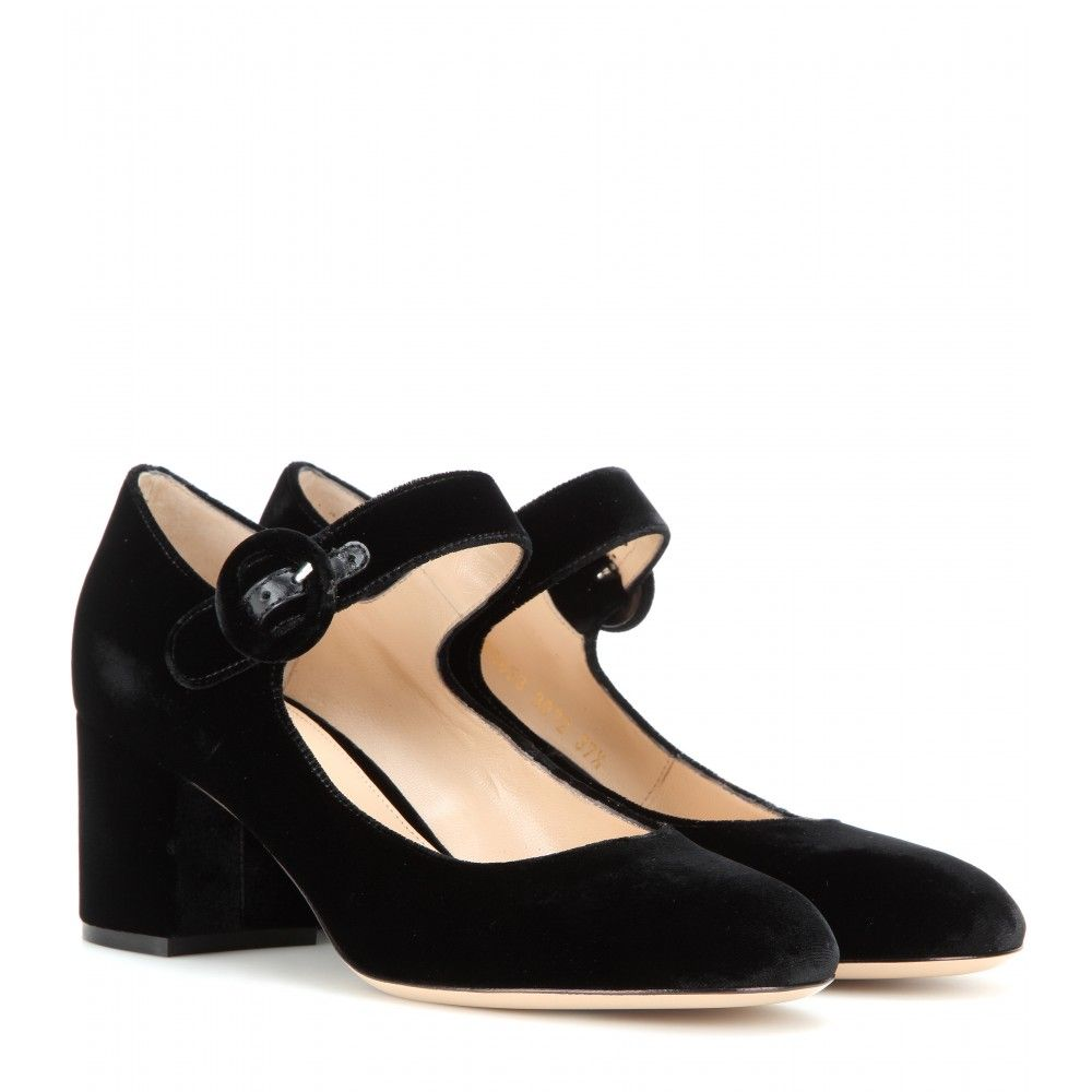 order cheap price hot sale online Gianvito Rossi Round-Toe Mary Jane Pumps TyP7Z