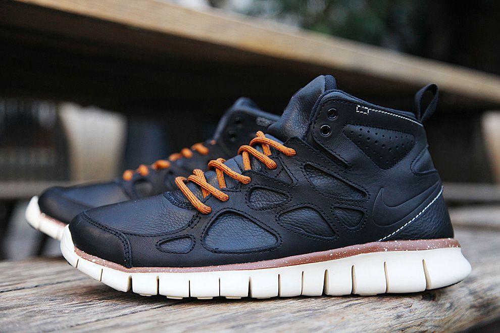 nike free run 2 sneaker boot leather waterproofing