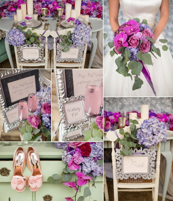 Purple Fairytale Wedding Ideas