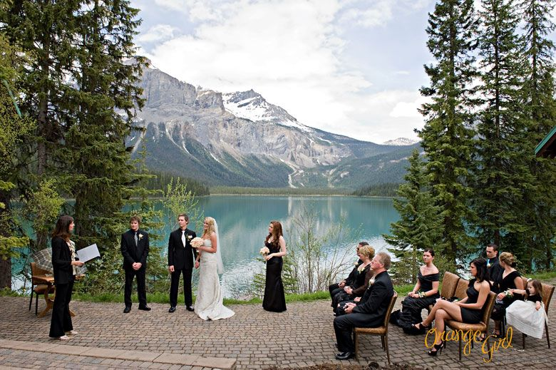 Blog Banff Wedding Photographer Emerald Lake Orange
